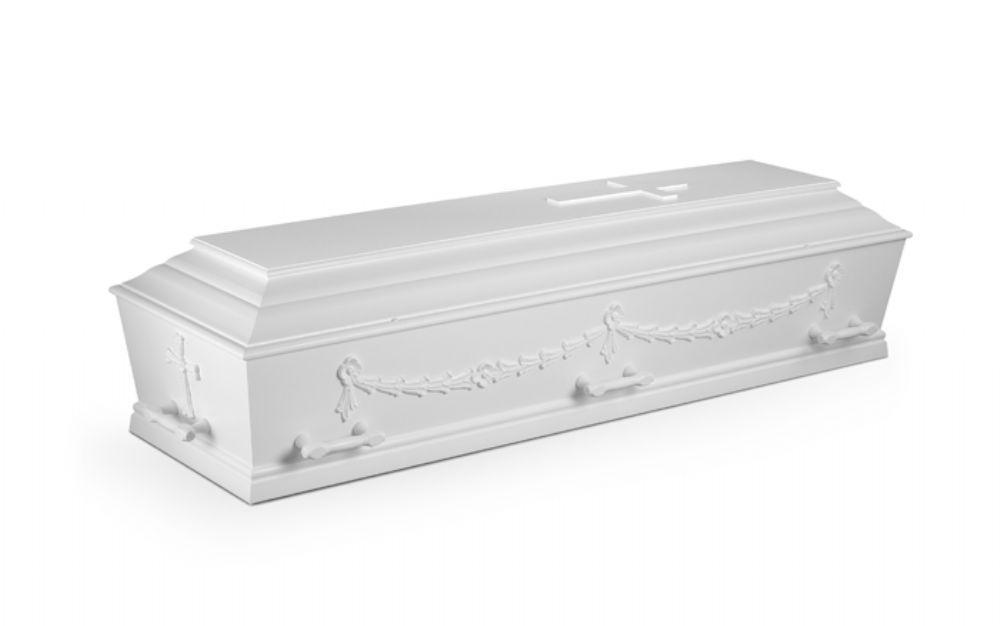 salg af Begravelse med dekoration