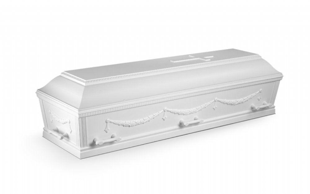 salg af Begravelse massiv fyr med dekoration