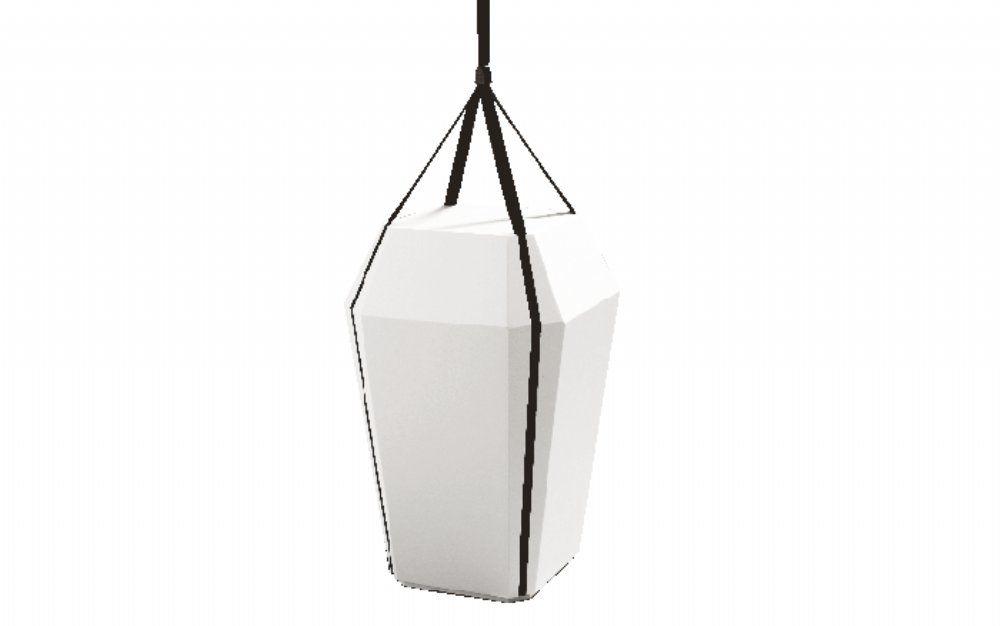 salg af Diamant urne hvid
