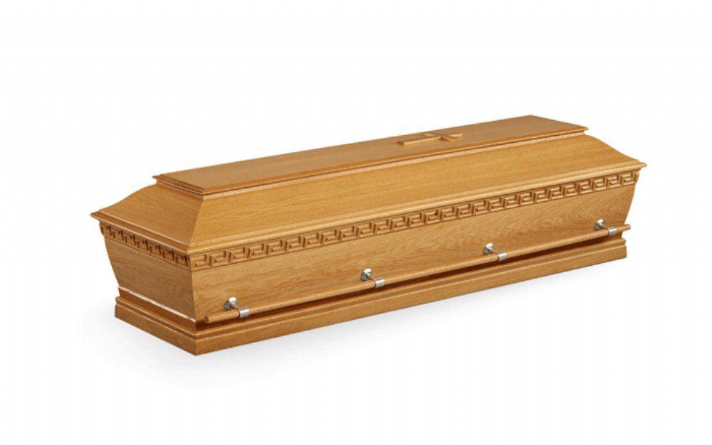salg af Kiste Begravelse - Kremering - Egetræ