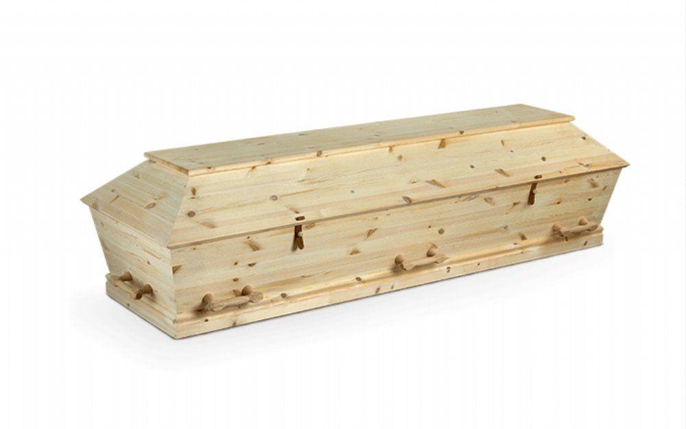 salg af Begravelse - Kremering - Ubehandlet Fyrretræ